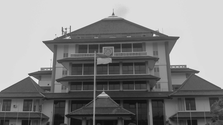 Rektorat Unair kampus C, Surabaya